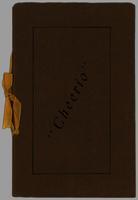 Cheerio Club 1929